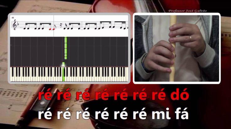 Única mulher - Anselmo Ralph Karaoke para flauta