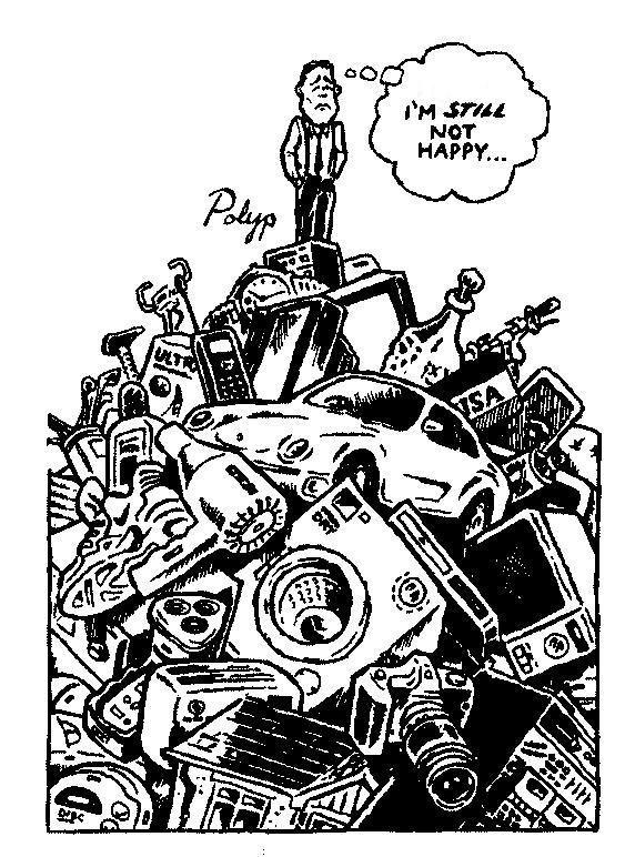 The Painful Truth Consumerism Anti Consumerism Materialistic