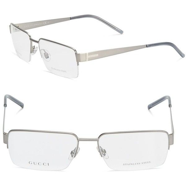 420abd0a199 Gucci Eyewear round frame glasses 2335 GTQ liked on Polyvore