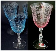 American Fostoria Glassware Early American | FOSTORIA CRYSTAL PATTERNS |..WONDERFUL I LOVE EARLY FOSTORIA NOT THE HEAVY PATTERNS OF LATER YEARS