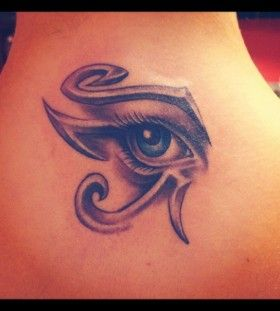 girl s egyptian eye tattoo posted in gallery egyptian eyes tattoos ...