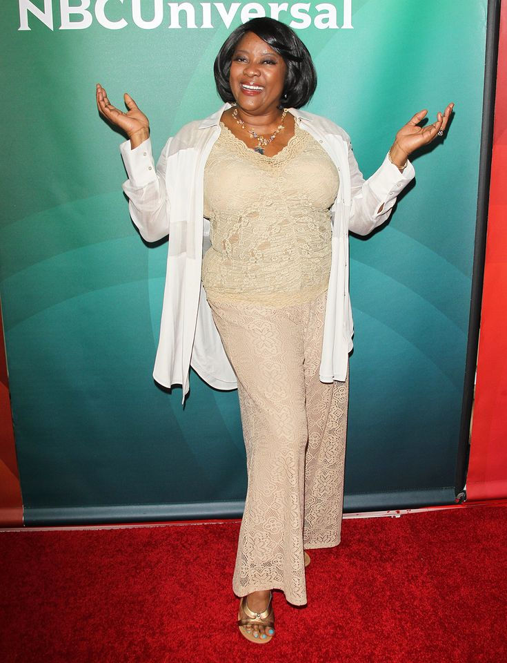 Loretta Devine arrives at the 2015 NBCUniversal Summer press day held at The Langham Huntington Hotel and Spa in Pasadena, California.