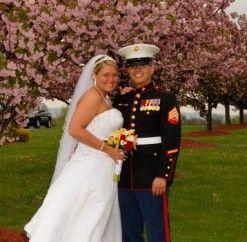 #militarywedding #anthonyslakeside #reception #floweringtrees