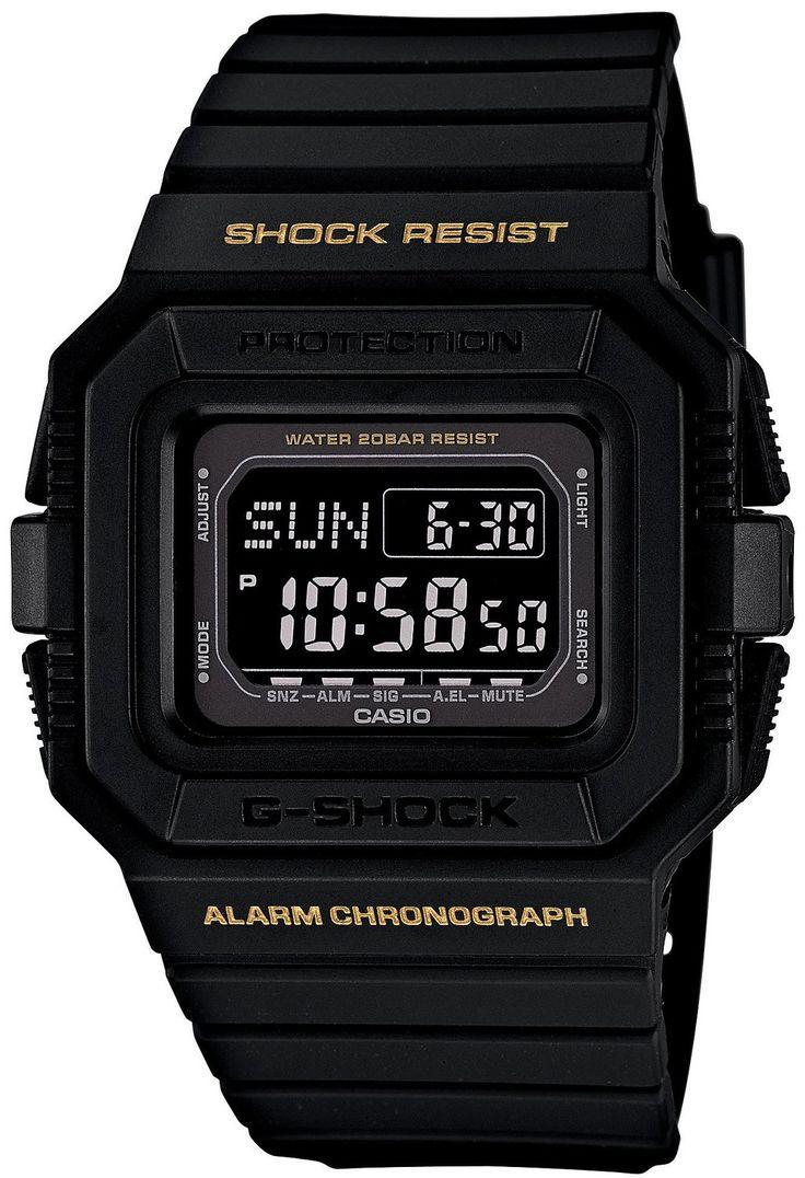 Amazon.co.jp: [カシオ]CASIO 腕時計 G-SHOCK DW-D5500-1BJF メンズ: 腕時計通販