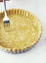 Good gluten free pie crust recipe. Tougher with white rice flour. Shorter/ crumblier with brown ric flour. I've been blind baking the shells and used it for meat pie ( white rice flour) and quiche (brown rice flour)