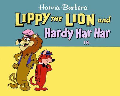 projetor antigo: Lippy & Hardy 1962 Dubl 1962, Animação, Dublado, Joseph Barbera, William Hanna