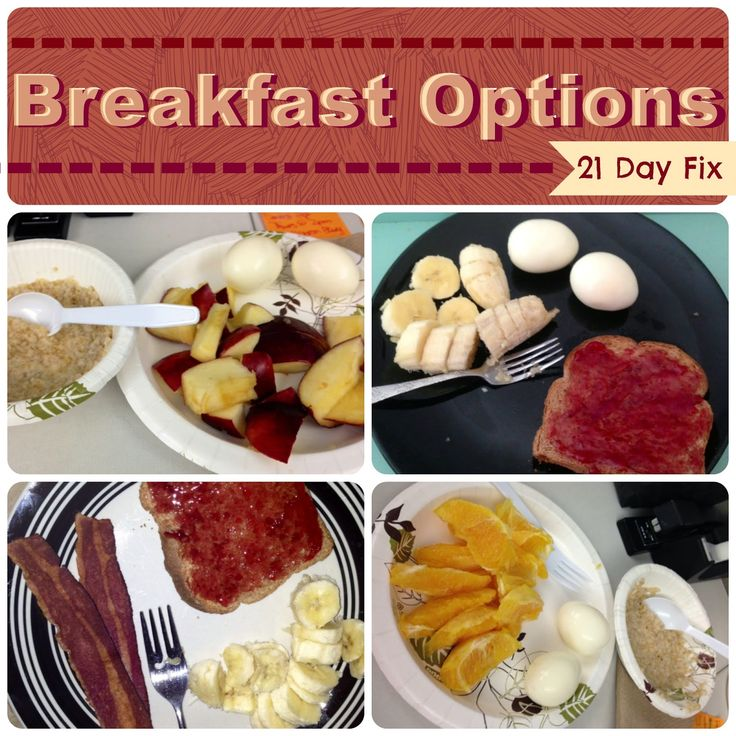 21 Day Fix friendly breakfast idea