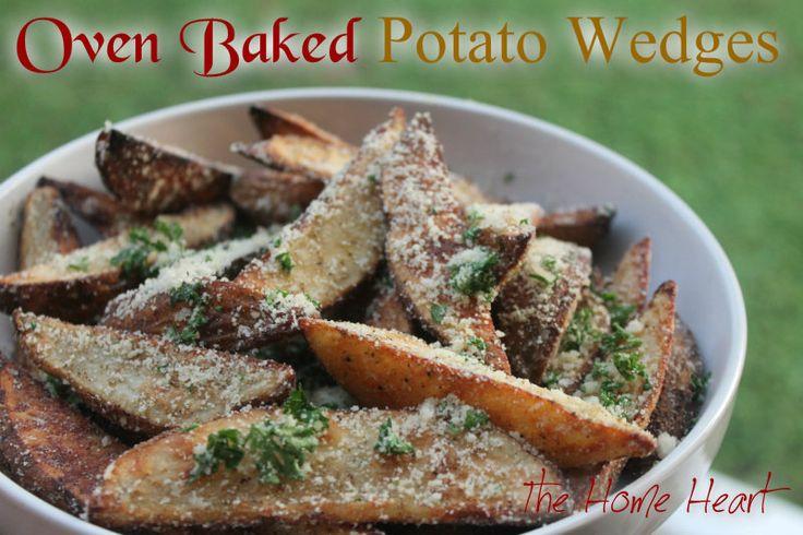 Oven Baked Potato Wedges EVOO = extra virgin olive oil Russet potatoe = roodbruine aardappel 450 gr. F = 232,2 gr. C Olijfolie 60 ml