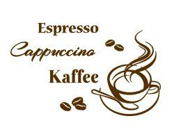 Marvelous Wandtattoo Kaffeesorten