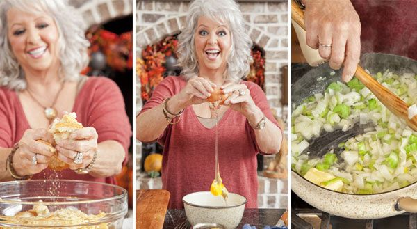 "Paula Deen Southern Cornbread Stuffing... it's the best!  I'll always use this recipe, but I'll use my GrainFree Paleo ""Cornbread"" recipe, and GrainFree Biscuits & Crackers"
