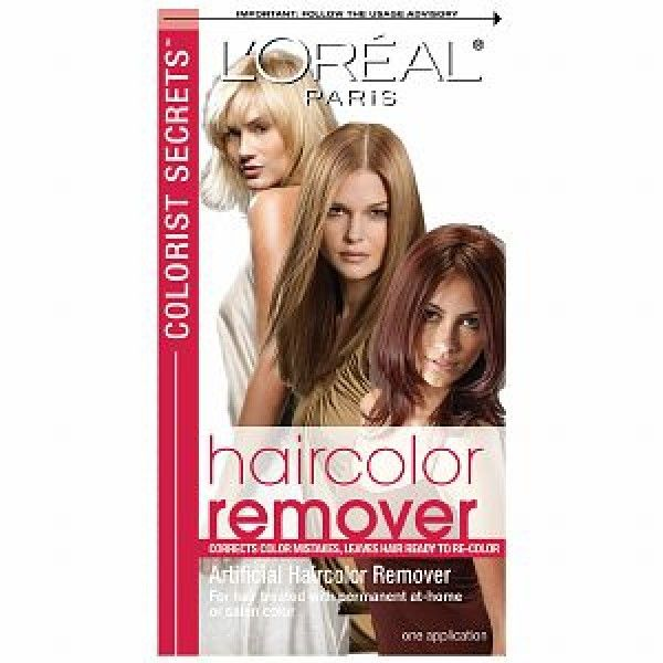 loreal hair color remover kit, loreals colorist secret hair color remover, permanent hair color remover, hair color removers