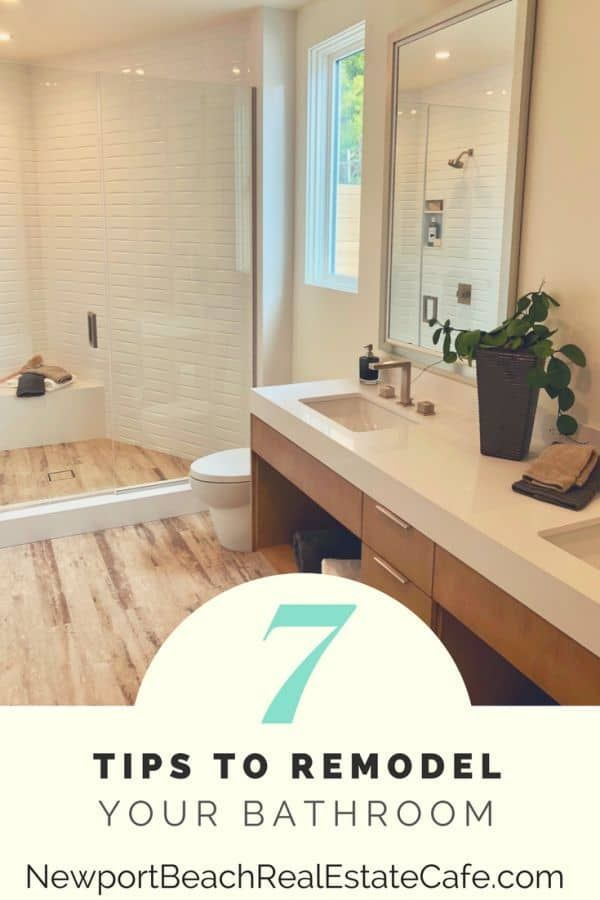 7 Tips To Remodel Your Bathroom In 2020 Home Selling Tips Remodel Bathrooms Remodel