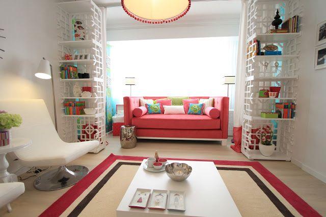 Ana Antunes. Pink Living Room
