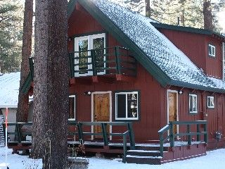 OPTION 2: $1328 4 nights. Tahoe Cabin Rental: Perfect! 1 Block To Lake, 5 Min To Skiing, Hot Tub, Pets, Bikes, 3rd Night Free! | HomeAway