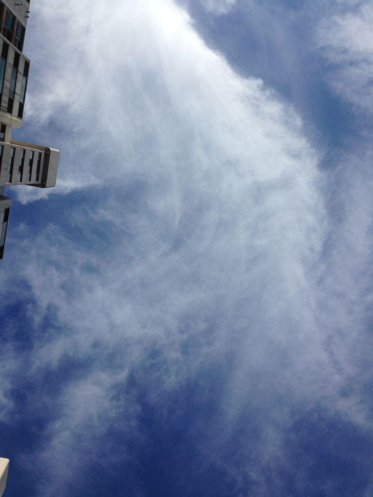 무심코 본 하늘