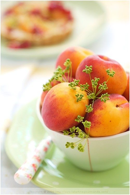 orange peaches