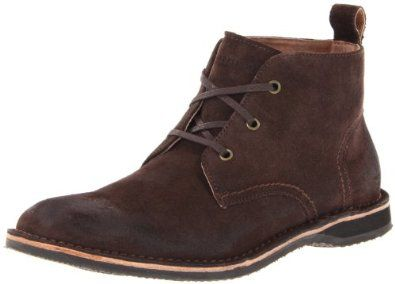Marc New York by Andrew Marc Men's Dorchester Chukka Avion/White/Cymbal  Canvas Boot D (M)
