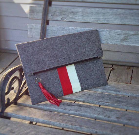 Pochette sac à main. Prêt à être envoyé. Fold Over Clutch