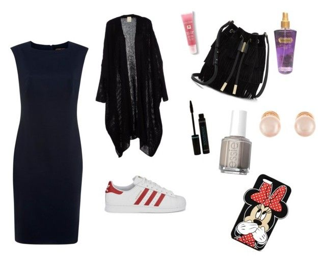 """sunday coffee"" by kidoulini on Polyvore featuring Jaeger, adidas Originals, Vince Camuto, Lancôme, Victoria's Secret, Essie, Kenneth Jay Lane and Forever 21"