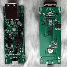 Двусторонняя OSP ПЕЧАТНАЯ ПЛАТА с Зеленой Маской Припоя