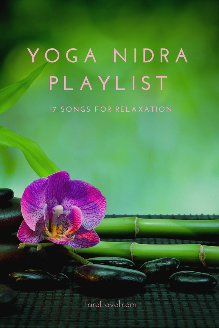Enter a deep state of relaxation with these songs for your Yoga Nidra practice. https://play.spotify.com/user/tfulford_us/playlist/3nP5dJcwtOuWjxxecDGCul
