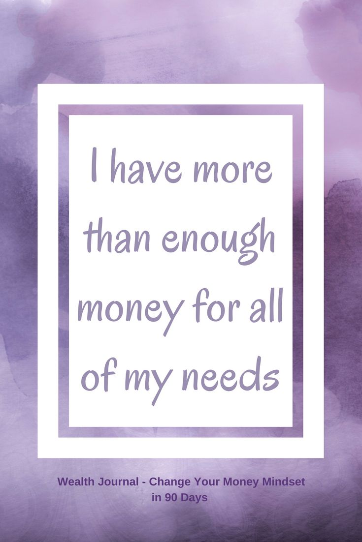 #9 Wealth affirmation to help you change your money mindset which will help you manifest more abundance using the Law of Attraction. Use the affirmation and see what it brings up for you, then work on eliminating any limiting beliefs. From the Wealth Journal: Change Your Money Mindset in 90 Days ~ available on Lulu, Amazon & Etsy