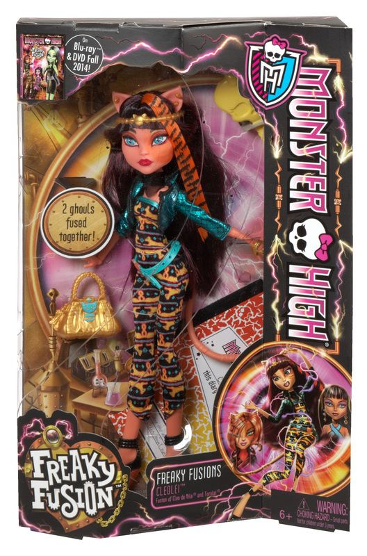 Monster High, Freaky fusion cleo lei. 29.99$ Achetez-le info@laboiteasurprisesdenicolas.ca 450-240-0007