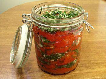 Рецепт заготовки на зиму перец с чесноком - Перец на зиму от 1001 ЕДА