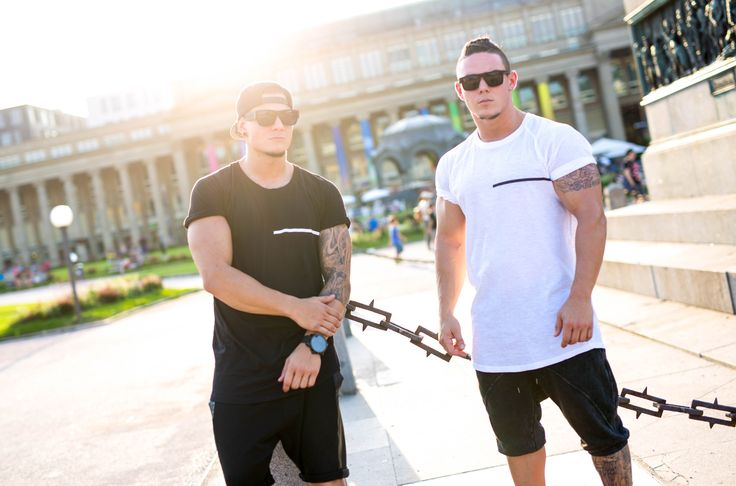 The Basic T-Shirts black and white! Get ready for the new SHRDD Collection! September Twentysixth. Only on shrdd.com!