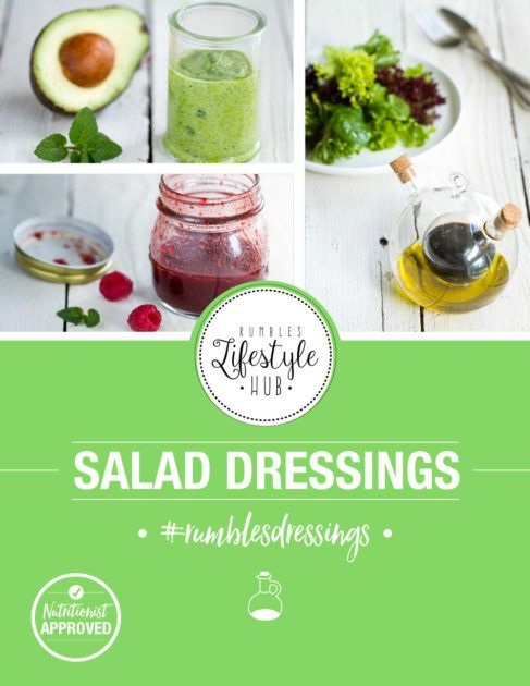 Learn how to make salad dressings a delicious part of your healthy lifestyle!