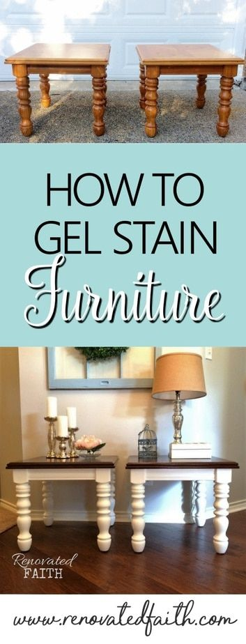 EASY Gel Stain Over Stain Technique (Also How to Gel Stain Over Paint!)