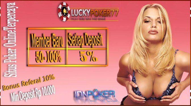 Bonus Poker Terbesar | Web Judi Domino QQ Terpercaya