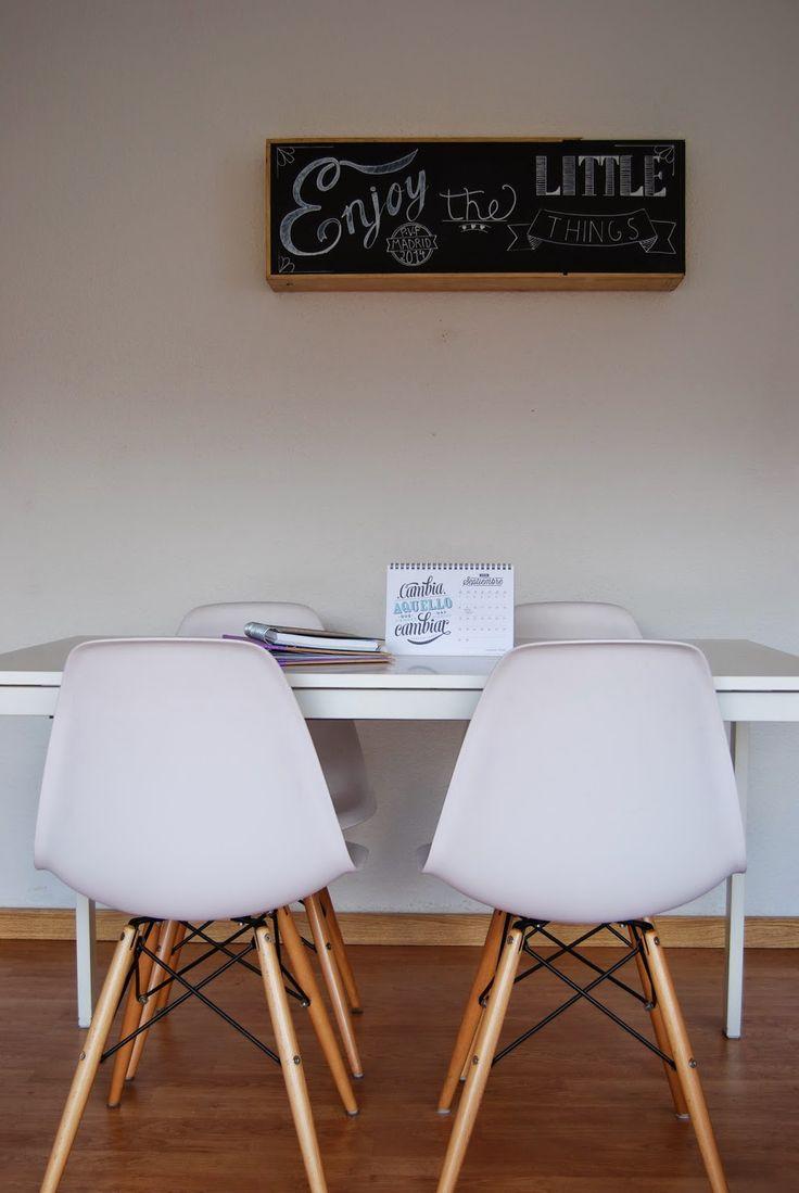 De caja de vino a estantería con pizarra. DIY chalkboard shelf from wine wood box