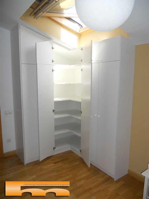 M s de 25 ideas incre bles sobre armario esquinero en pinterest armario de rinc n dise o de - Armarios de esquina a medida ...