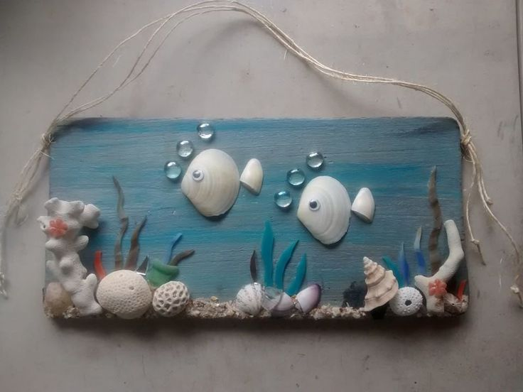 506 best images about sea shell ideas on pinterest for Shell art and craft