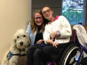 Elina Hughes has athetoid cerebral palsy which makes it almost impossible for her to hold a book or pencil, yet this disability doesn't stop her from pursing her dreams, acquiring knowledge, attend…