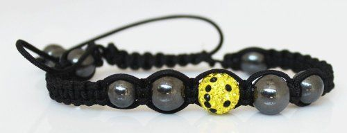 Shamballa Bracelet - Smiley 10mm with 8 magnetic beads Sophistikitty. $9.99. 2 magnetic 10mm hematite beads. 6 magnetic 8mm hematite beads. 10mm CZ crystal ball. one size fits all. Smiley