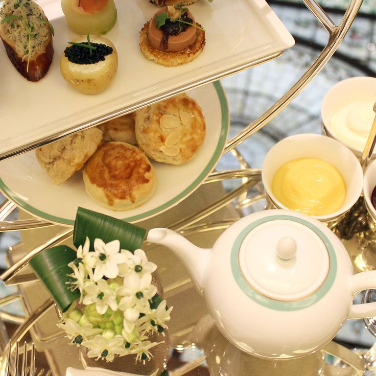 The chicest places to have tea in New York City.