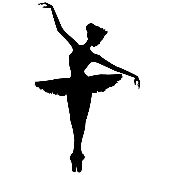 Image result for dancer silhouette arabesque