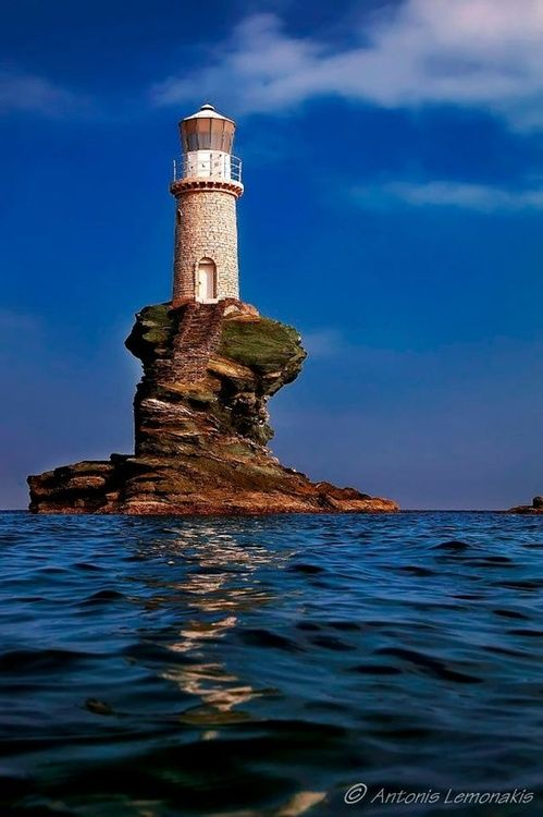 Lighthouse ~ Greece