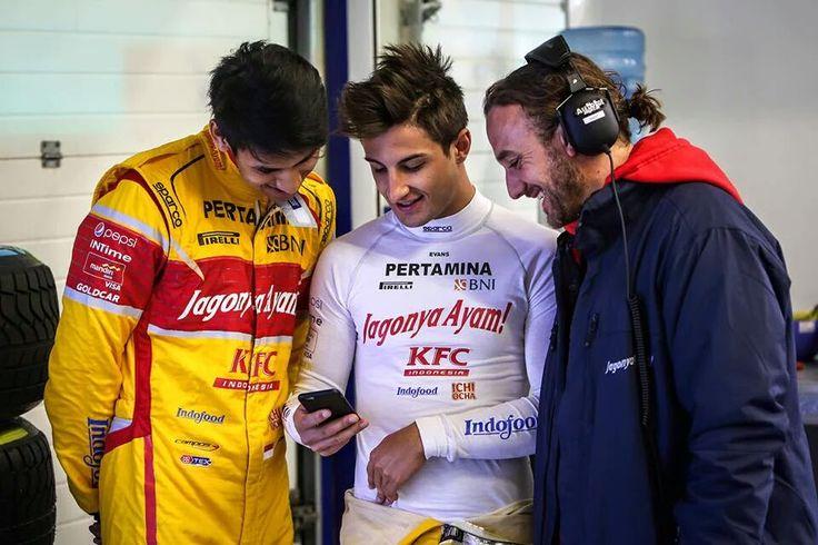 GP2 Pre-season testing. Circuito de Jerez - Spain, 29 - 31 March 2016. Team Jagonya Ayam Campos Racing, drivers : Sean Gelael and Mitch Evans. Credit to Gregory Heirman