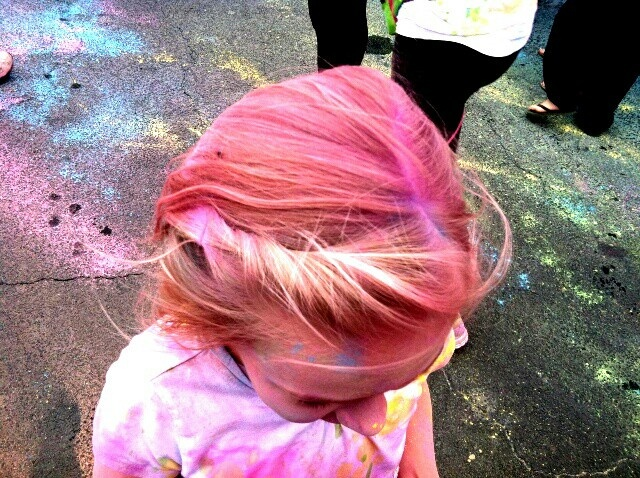 Best Color Run Birthday Board Images On Pinterest Birthday - Hairstyle for color run
