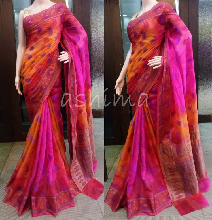 Code:0905161 - Shaded Silk Kota With Woven Design, Price INR:5250/-