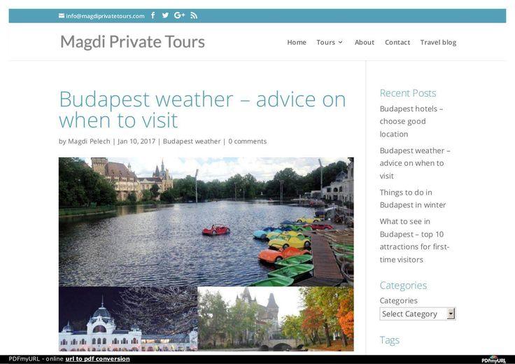 Long Term Weather Forecast Budapest PDF