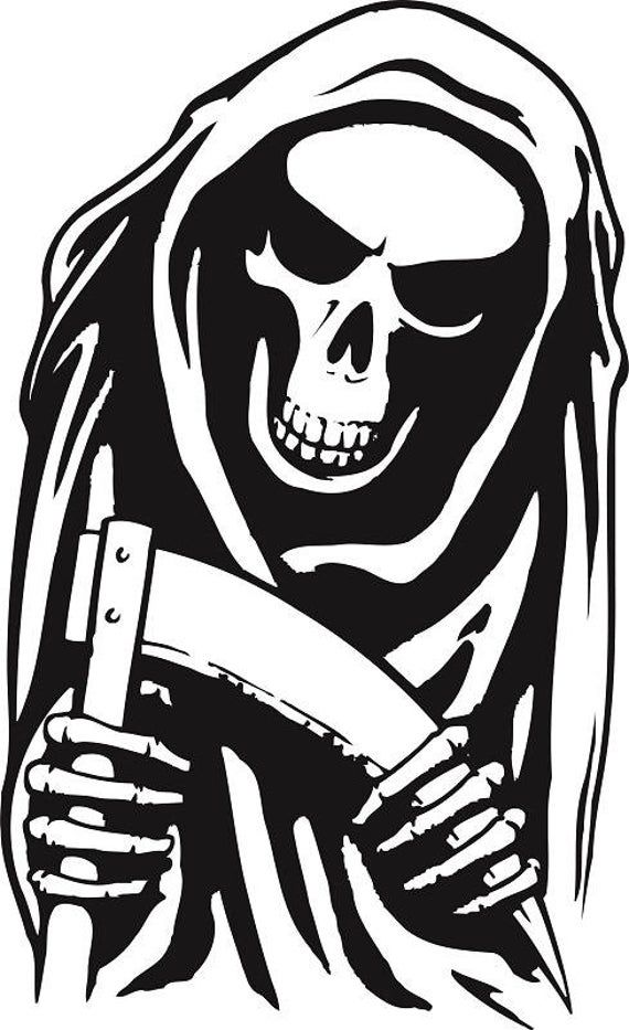 Reaper Clipart Reaper Stencil Ai Svg Dxf Eps Png Etsy In 2021 Clip Art Halloween Silhouettes Stencils