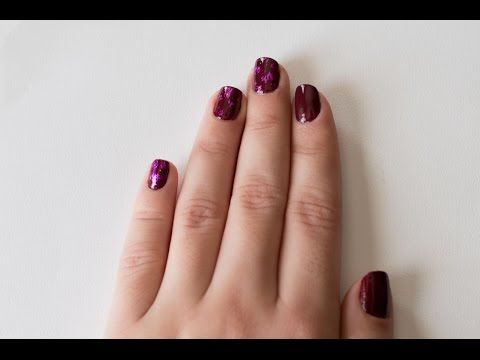 Простой дизайн ногтей  Simple nail art 2 - YouTube