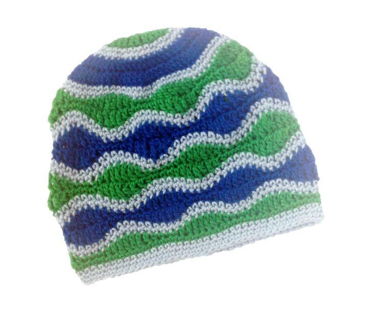Modrá a zelená vlna