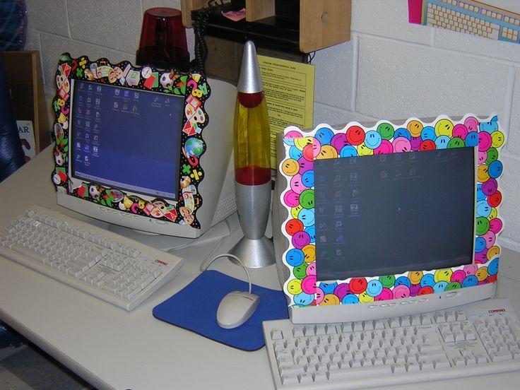 T V Amp Computer Monitor Decorations 2nd Grade