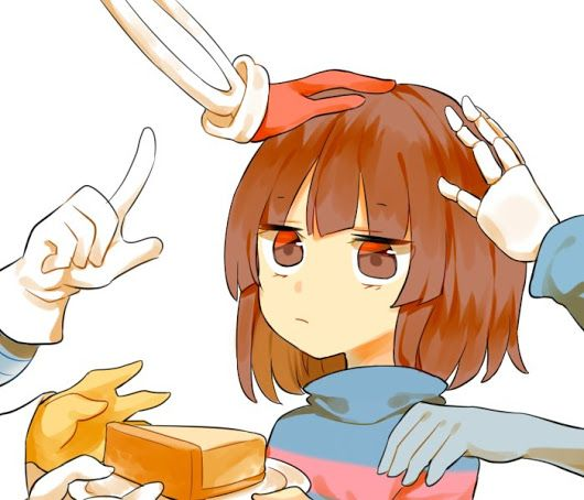 Frisk and friends the