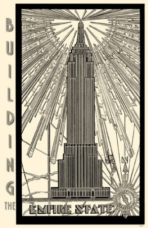 50 best images about empire state building on pinterest for Empire state building art deco interior